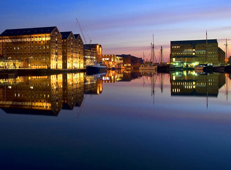 Gloucester Docks. Credit Saffron Blaze