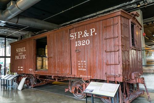 Mill City Museum Vagon