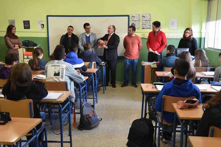 VISITA COLEGIO IES GARCIA LORCA2