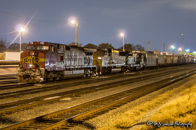 BNSF 712 | GE C44-9W | NS Forrest Yard