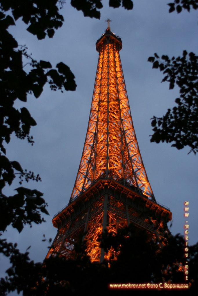 Город Париж, столица Франции фото достопримечательностей