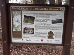 Uhříněves, židovský hřbitov