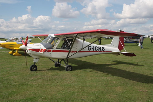 G-ICRS Ikarus Comco C-42 [PFA 322-13873] Sywell 010917