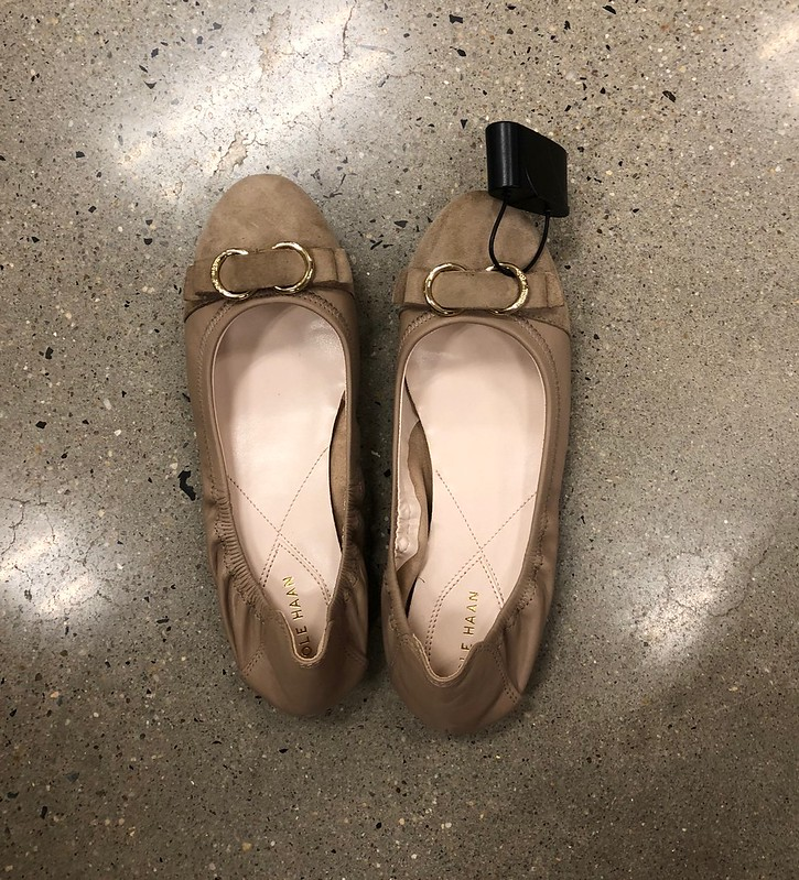 Cole Haan Elme II Ballet Flat in maple sugar