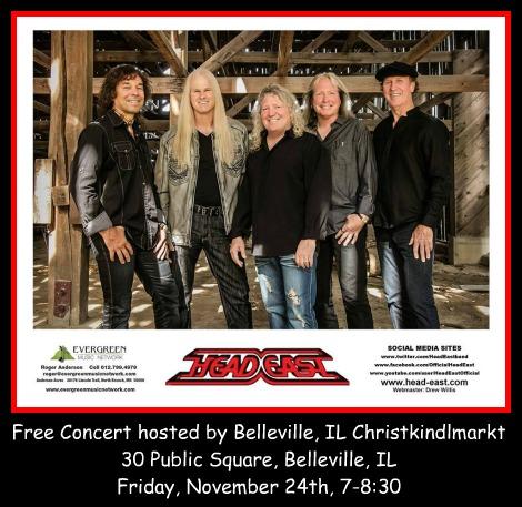 Head East Concert 11-24-17