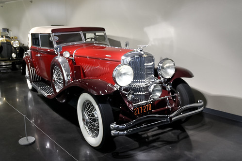 1931 Duesenberg Model J Convertible Sedan