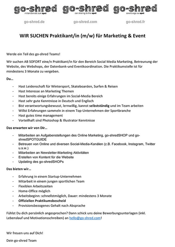 Microsoft Word - Praktikantenausschreibung 1117.docx