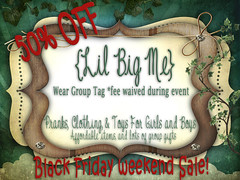 {LBM} Black Friday Weekend Sale!