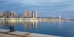 Muelle 1 del puerto de M�laga