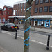 Yarn bombing - High Street, Harborne