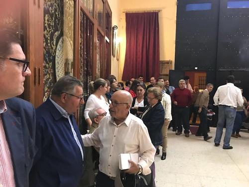 Cabildo de elecciones en la Hermandad de la Borriquita