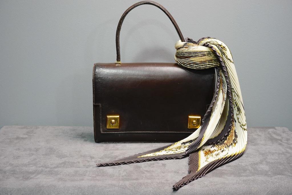 Bag: Hermès Scarf: Hermès