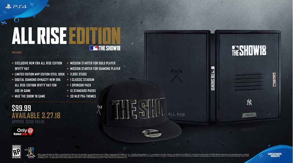 MLB The Show 18: All Rise Edition