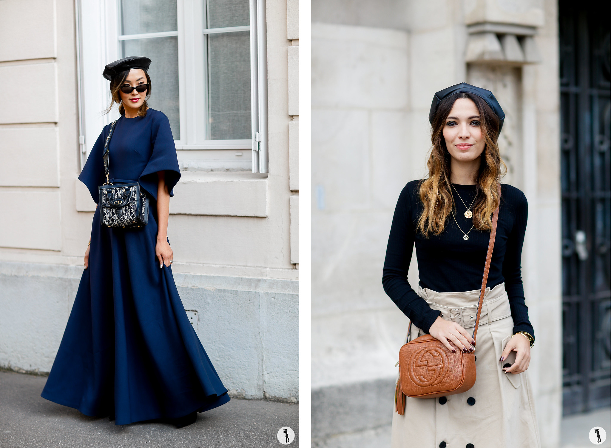 Chriselle Lim and Sofya Benzakour - Paris Fashion Week SS18