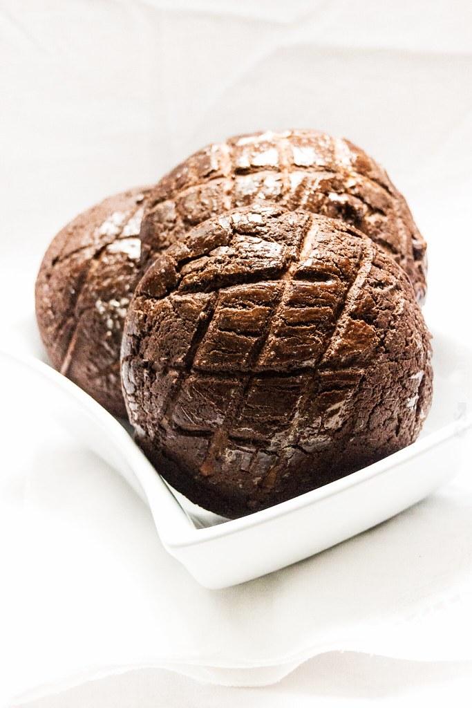 Double Chocolate Bo Lo Bao
