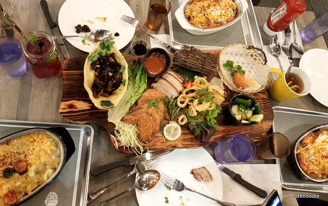 Woodstone Eatery food