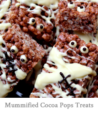 Mummified Cocoa Pops Treats