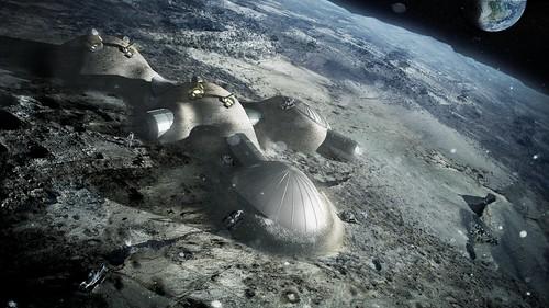 Habitáculos lunares(2009-)_ Copyright Foster+Partners