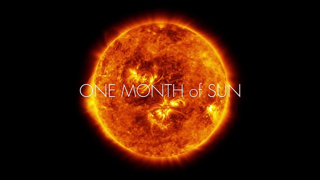 ONE MONTH of SUN