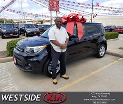 #HappyBirthday to James from Jason Taylor at Westside Kia!