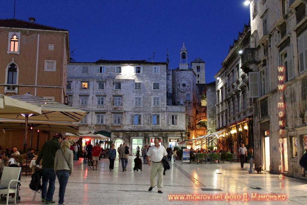 Исторический центр Сплит — город в Хорватии активный отдых с фотокамерой