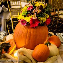 Pumpkin Centerpiece 2 @ 2017 Kelly Faughnan Golf Tournament,  Westfields Golf Club - Clifton, VA