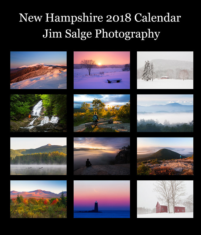 All Images in the New Hampshire 2016 Calendar