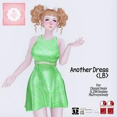 !cream spaghetti hair! Another Dress <LB> AD