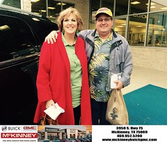 #HappyBirthday to Janet and Ron from Ricky Barnes at McKinney Buick GMC!