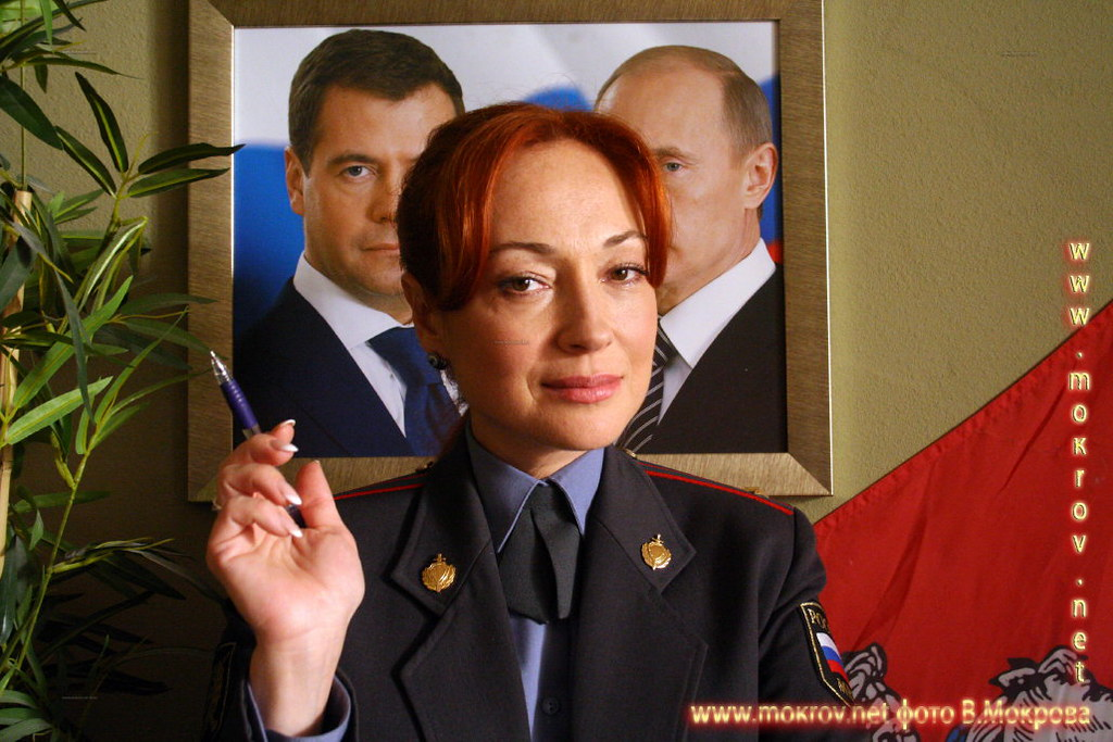 Виктория Тарасова в сериале Пятницкий ОВД.