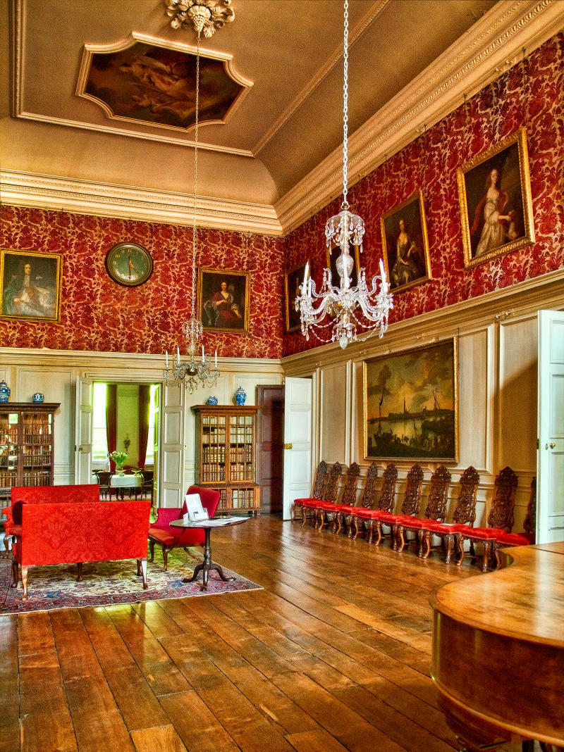Drawing Room at Dyrham Park, Gloucestershire. Credit Anguskirk, flickr