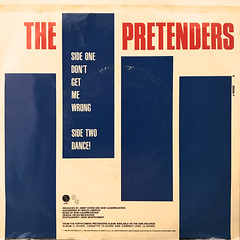 THE PRETENDERS:DON'T GET ME WRONG(JACKET B)
