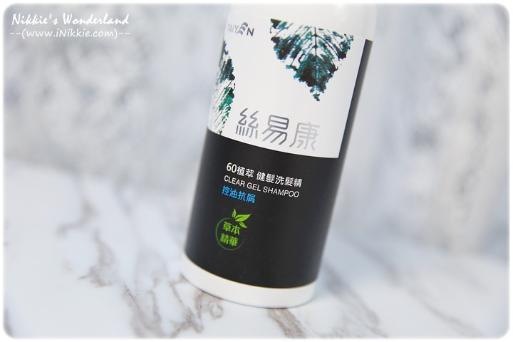 TAIYEN台鹽 絲易康 60植萃洗髮精-控油抗屑