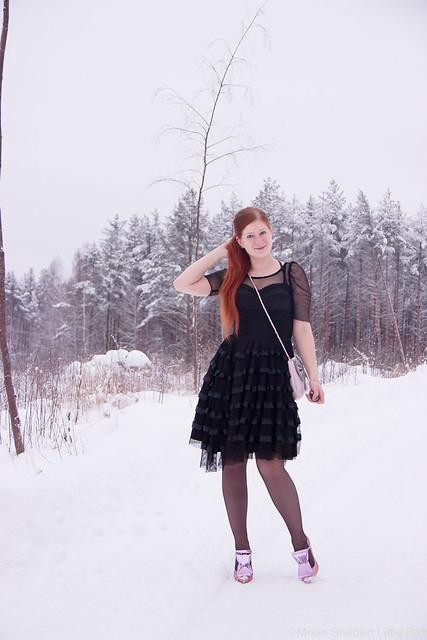 Pikkujouluasu Päivän Asu tyylibloggaaja