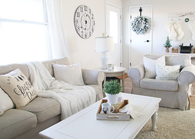 Neutral Living Room Decorations