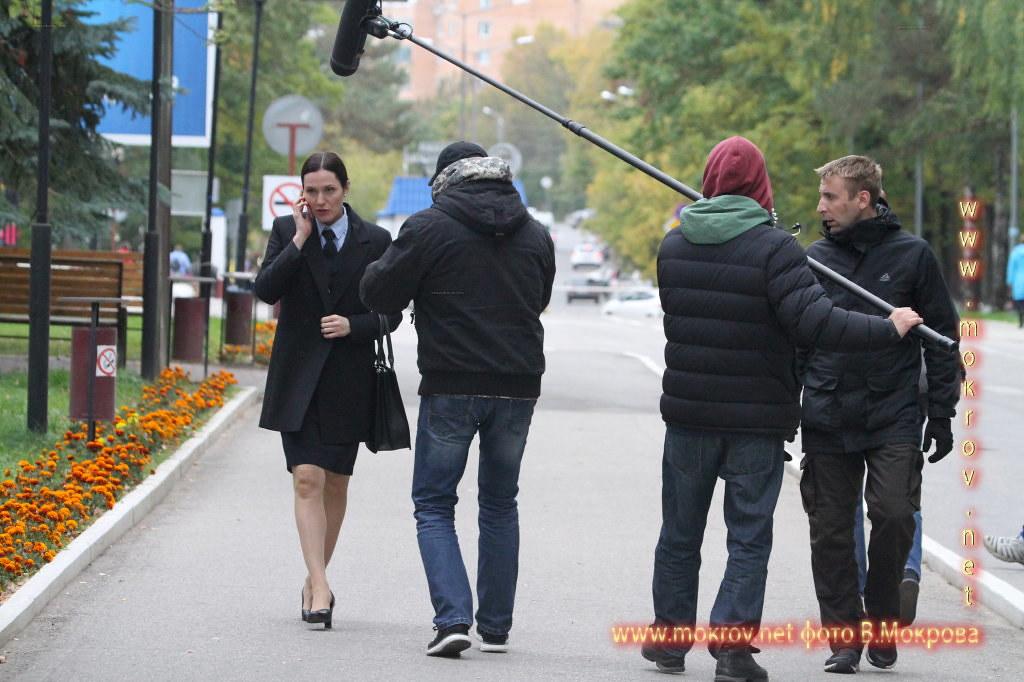 На съемках Телесериала «Морозова» фотография