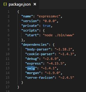 2017-12-05 04_50_49-package.json - expressmvc - Visual Studio Code