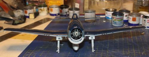 """Grumman F6F-3 Hellcat, """"Vit 19 Vraciu"""", Eduard 1/48 - Sida 3 24319548808_4eec199da0"""
