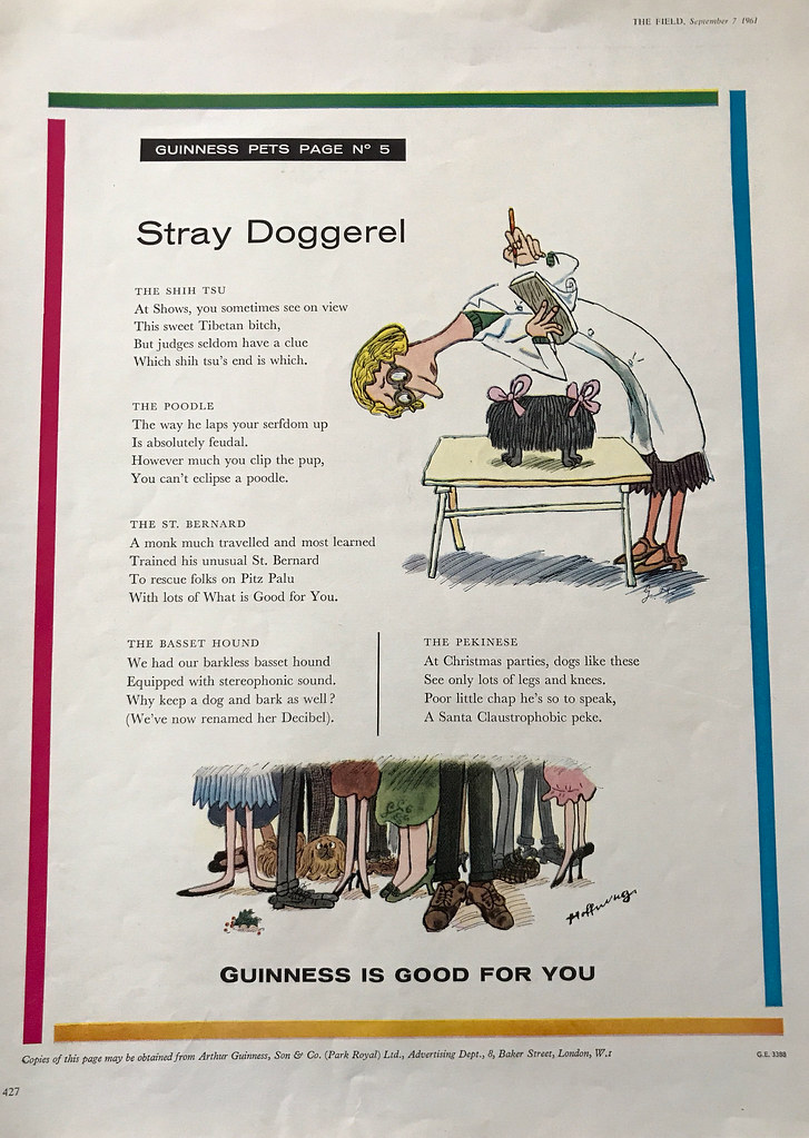 Guinness-1961-stray-doggerel