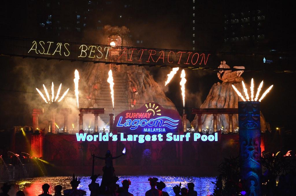 Party Ulangtahun Sunway Lagoon 25 Wonder Years