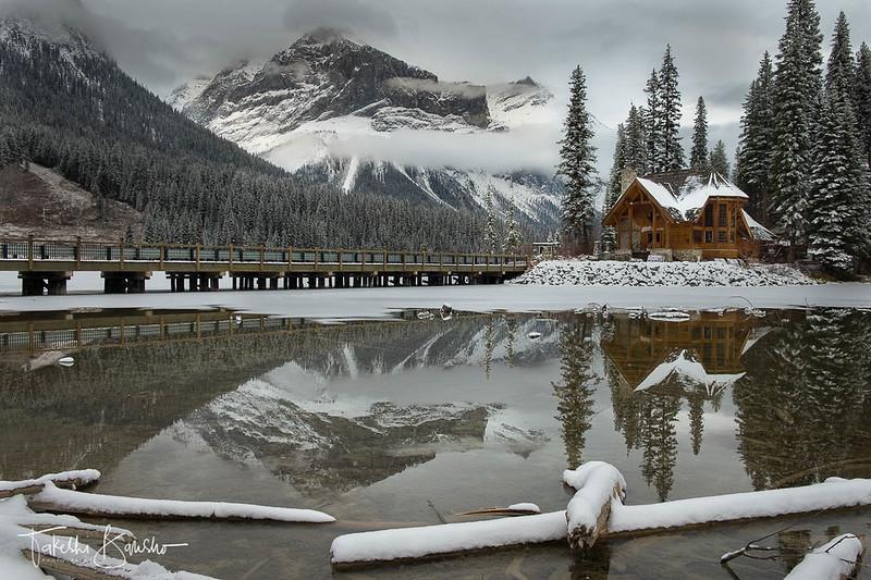 Cabin in the Winter