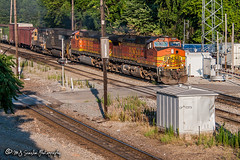 BNSF 5494 | GE C44-9W | BNSF Thayer South Subdivision