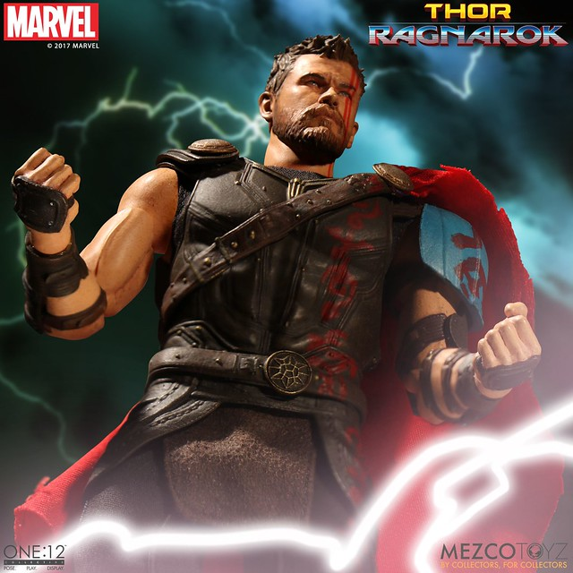 「官圖&販售資訊更新!!」MEZCO – ONE:12 COLLECTIVE 系列【角鬥士索爾】Gladiator Thor 1/12 比例人偶作品