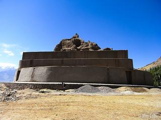 Tisseru Stupa en Leh, Ladakh
