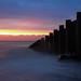 Eastbourne Groynes at Sunrise