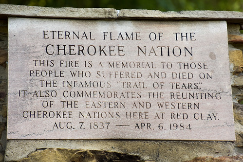 Eternal Flame Of The Cherokee Nation