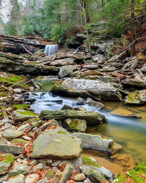 Little Possum Creek Falls [25'] {Imodium Falls}
