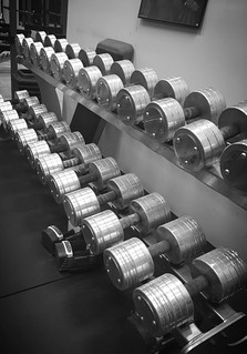 Dumbells at Strong Side Conditioning