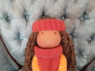 Sophia - Waldorf inspired Scrapper doll