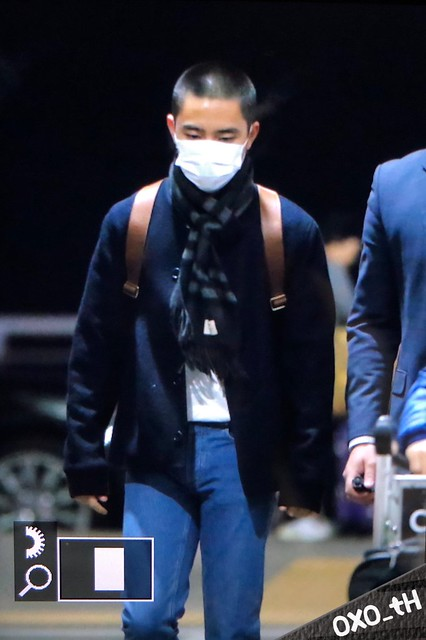 171208 D.O. at Incheon and Macau Airport